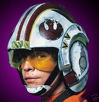 Star Wars Movie X Wing Helmet Halloween Mask Costume