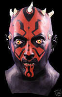 Star Wars Movie Darth Maul Halloween Mask Costume Prop