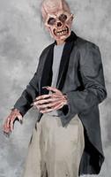 Rotted Tattered Tuxedo Zombie Coat Halloween Costume