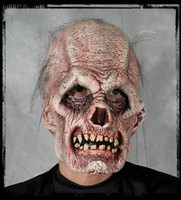 Old Rotted Phantom Rock Zombie Halloween Mask Costume