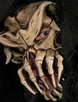 Nightmare on Belmont ave Alien Skull Creature Halloween Mask Costume