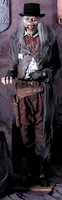 Life Size Old Dead Eye Gun Slinger Man Cowboy Zombie Halloween Prop Decoration Deadeye  Gunslinger