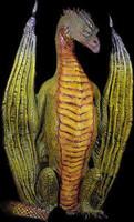 Life Size 8' Dungon Dragon Halloween Prop Decoration