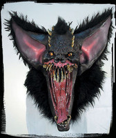 Huge Extreme Gothic Grusome Bat Halloween Costume Mask