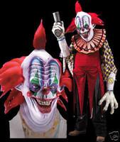 Huge Extreme Adult Giggles Clown Halloween Mask Creature Reacher  Costume