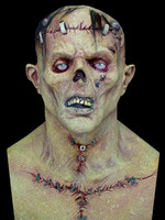 Gruesome Freekish Frankenstein Halloween Mask Costume