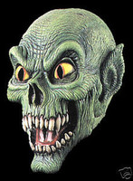 Gothic Demon Frightmare Halloween Mask Costume Prop