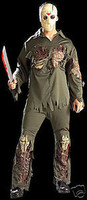 Friday The 13rh Deluxe Jason Halloween Adult Costume