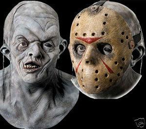 prix bas plus grand choix de 2019 extrêmement unique Friday 13th Movie Deluxe Double Jason Halloween Mask