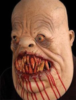 Meateater Fat Carnivore Man Eater Creature Halloween Mask Costume