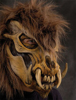 Extreme Wild Thing Skull Creature Halloween Mask Prop
