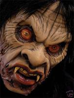 Extreme Voo Doo Spell Undead Zombie Mask Halloween Prop