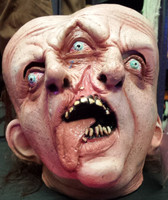 Gemini Realistic Sideshow Siamese Twins Freak Show Circus Halloween Costume Mask