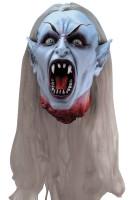Life Size Gothic Severed Vampire Head Halloween Prop