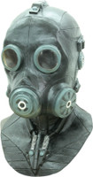 Smoke Hazmat Chemical Black Gas Bio Hazard Toxic Future Halloween Costume Mask
