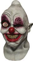 Crazy Eye Digital Clown Killer Halloween Costume Mask