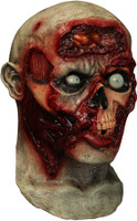 Pulsing Brains Digital Zombie Walking Dead Undead Halloween Costume Mask