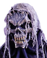 Gauze Crypt Skull Reaper Demon Halloween Costume Mask