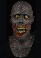 The Walking Dead Charred Zombie Walker Halloween Costume Mask