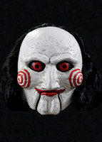 Official Saw Billy Puppet Man Halloween Costume Mask