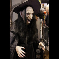 Life Size Forest Wicked Witch Legend Halloween Prop