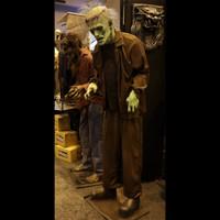 6 1/2' Tall Life Size Frankenstein Monster Legend Halloween Prop
