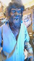 6' Tall Life Size Werewolf Wolfman Monster Legend Halloween Prop