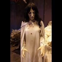 Animated Life Size La Llorona Spirit Ghost Corpse Frightronics  Halloween Prop