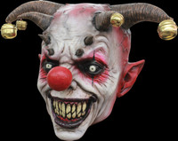 Jingle Jangle Clown Creepy Circus Evil Freak Halloween Costume Mask