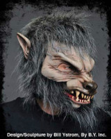 Moving Mouth Great Wolfman Werewolf Lone Wolf Halloween Costume Hell Hound Mask