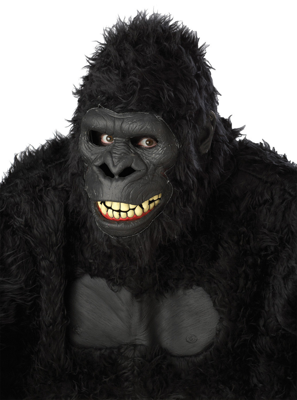 goin ape gorilla ani-motion moving mouth face expressions halloween