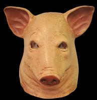 Extreme Saw Movie Blood Pig Skin Head Halloween Costume Mask