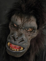 Realistic Go-Rilla Ape Gorilla Monkey Halloween Costume Mask