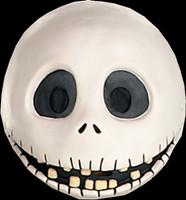 Jack Skellington Nightmare Before Christmas Vinyl Halloween Costume Mask