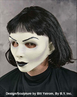 Hot Gothic Sexy Woman Pale White Vampire Goth Girl Lady Halloween Costume Mask
