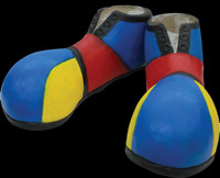 Latex Insane Clown Posse Juggalo Halloween Costume Shoes Accessories