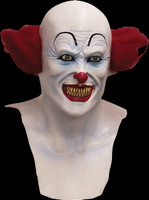 Scary Pennywise Circus Clown Freak Insane Evil Killer Halloween Costume Mask