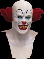 Scary Pennywise Circus Clown Freak Insane Evil Killer Halloween Costume Mask