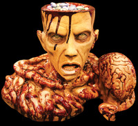 Brain Candy Bowl Halloween Party Horror Gore Prop Decoration