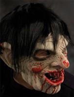 Yummy Creepy Gothic Troll like Clown Evil Undertaker Halloween Costume Mask