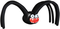 5' tall Spider w/ Mouth Air blown Inflatable Halloween Yard Decor Decoration