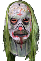 Rob Zombie Zombie's 31 Psycho Head Clown Killer Halloween Costume Mask