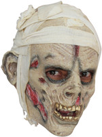 Kids Child Mummy Monster Halloween Costume Mask