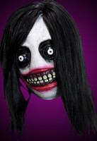 Jeff The Killer Creepy Meme Monster Halloween Clown Costume Mask