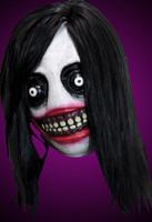 Jeff The Killer Creepy Meme Monster Halloween Clown Costume Mask