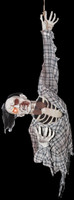 Life Size Animated Hanging Ghoul Zombie Corpse Torso Halloween Prop Decoration