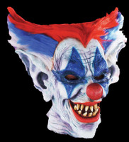 Outta Control Circus Clown Freak Halloween Costume Mask