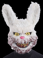 Bunny Rabid Serial Killer Gruesome Vacuum-formed Halloween Costume Mask