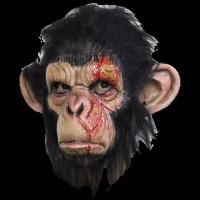 Infected Chimp Ape Primate Chimpanzee Zombie Animal Halloween Costume Mask