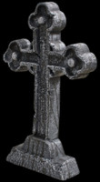 24 inch Celtic Cross Graveyard Cemetery Halloween Tombstone Headstone Decor Prop